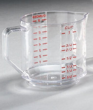 Clear Measuring Cup, 8oz