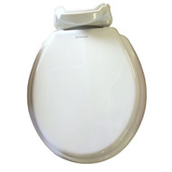 Dometic 310 Wood Replacement Toilet Seat & Cover, Bone
