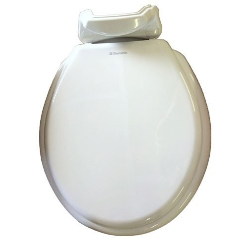 Dometic 310 Wood Repalcement Toilet Seat & Cover, White