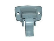 A&E Metallic Awning Bottom Mounting Bracket, Gray Silver