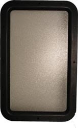 "Replacement Window For Phillips Entrance Doors, 12"" x 21"""