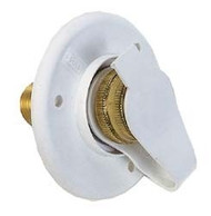 City Water Flange, Polar White