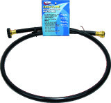 "Valterra Drinking Water Hose, Ebonyline, 1/2"" x 5', Black"