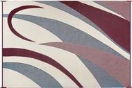 Reversible Outdoor Patio Mat/Rug/Carpet, Burgundy Black