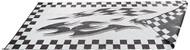 Reversible Outdoor Patio Mat/Rug/Carpet, Checkered, 8 x 20