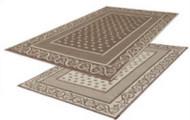 Reversible Outdoor Patio Mat/Rug/Carpet, Beige, 9 x 12