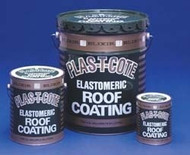 Elastomeric Roof Coating, White, 1 Gal