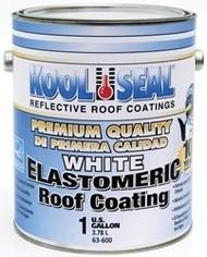 Kool Seal Elastomeric Premium Roof Coating, 1 Gal, White