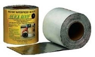"Quick Roof Aluminum Waterproof Roof Repair, 6"" x 33'"