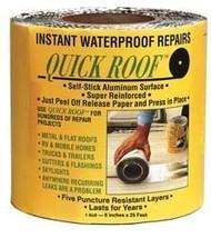 "Quick Roof Aluminum Waterproof Roof Repair, 6"" x 25'"