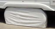 Double Axle Tyre Gard, #2 Polar White