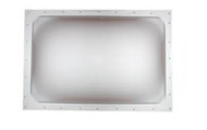"Skylight 22"" x 22"" Rough Hole, 25"" x 25"" Flange-Flange, White"