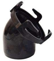 Valterra Hose Adapter, 45°, Black, Bulk