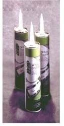 Dicor EPDM Rubber Caulk Roof Lap Sealant, White, 4pk