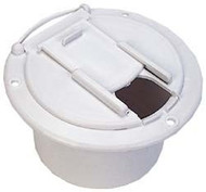 Electrical Cable Hatch, Polar White