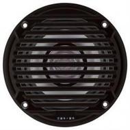 "ASA Electronics Jensen 5"" Dual Cone Speaker, Black, 2pk"