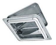 Roof Vent Ventline Non-Powered Metal w/out Garnish, White