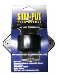 Stay-Put Plug Holder