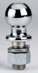 "Hitch Ball 2 5/6"" 20k Zinc"