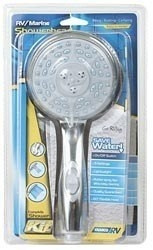 Camco Shower Handset Only, Off White