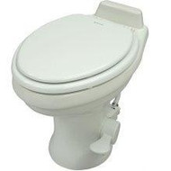 Dometic High Profile 320 Series Gravity RV Toilet, White