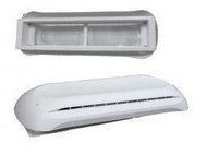 Dometic Refrigerator Vent Cap & Base, Polar White