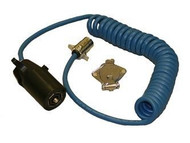 Blue Ox 7 to 4 Coiled Electrical Cable