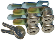 """Prime Products Baggage Lock, 7/8"""", 4pk"""