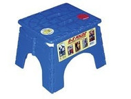EZ-Foldz Folding Step Stepping Stool, Blue