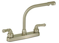 "Empire Brass 8"" Kitchen Faucet Hi-Rise Spout, Nickel"