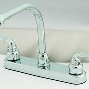Empire Brass Kitchen Faucet, Chrome