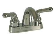 "Empire Brass 4"" Lavatory Teapot Handles Arc Spout, Chrome"