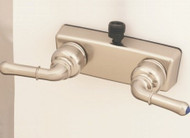 "Empire Brass 4"" Personal Shower Valve w/ Teapot Handles, Nickel"