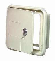 Locking RV Electrical Hatch, Polar White
