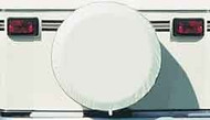 Spare Tire Cover, Polar White, Size C