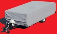 "Polypropylene PopUp Folding Trailer Cover, 8'1"" - 10'"