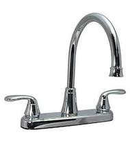 Phoenix 2 Handle Kitchen Faucet, Chrome