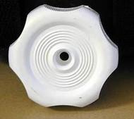 Plastic Knob Handle, White