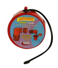 Valterra EZ Coupler Drip Cap, Red, Bulk