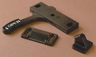 Amerimax Screen Door Latch, Left Hand