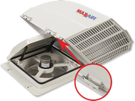 MaxxAir Fan Mate Model 855, White