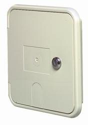 Locking Electrical Hatch, Polar White