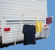 Detachable RV Clothesline