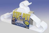 Stay-Put Clothes Hangers Closet Hook