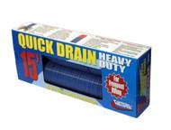 Valterra Quick Drain Hose, HD, 15', Blue, Boxed