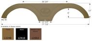 Fender Skirt, Tandem, Keystone, FS2248, Metallic Dark Brown