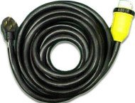 Power Cord 50 Amp w/ Marinco Hubbell Locking Connector, 36'
