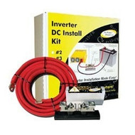 GoPower Electric Inverter DC Install Kit for 1500W-1750W