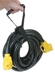 50A Power Cord w/ Handle, 30'