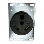 Progressive Industries Wall Mount Receptacle, 30 Amp